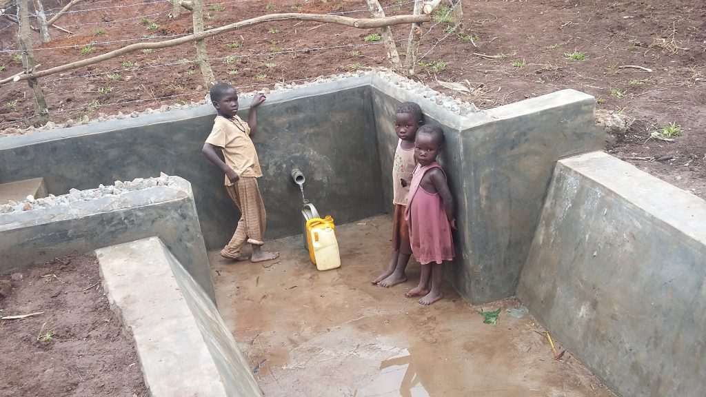 The Water Project : 8-uganda6087-clean-water