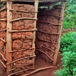 The Water Project: Bumavi Community, Esther Spring -  Latrine