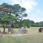 The Water Project: Kitandi Primary School -  Solar Well In Community