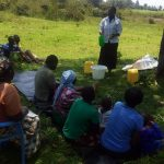 The Water Project: Matsakha A Community, Kombwa Spring -  Training