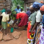 The Water Project: Kyumbe Community A -  Hand Washing Training