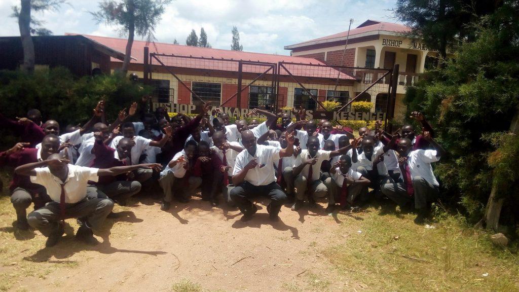 The Water Project : 1-kenya18002-school-gate