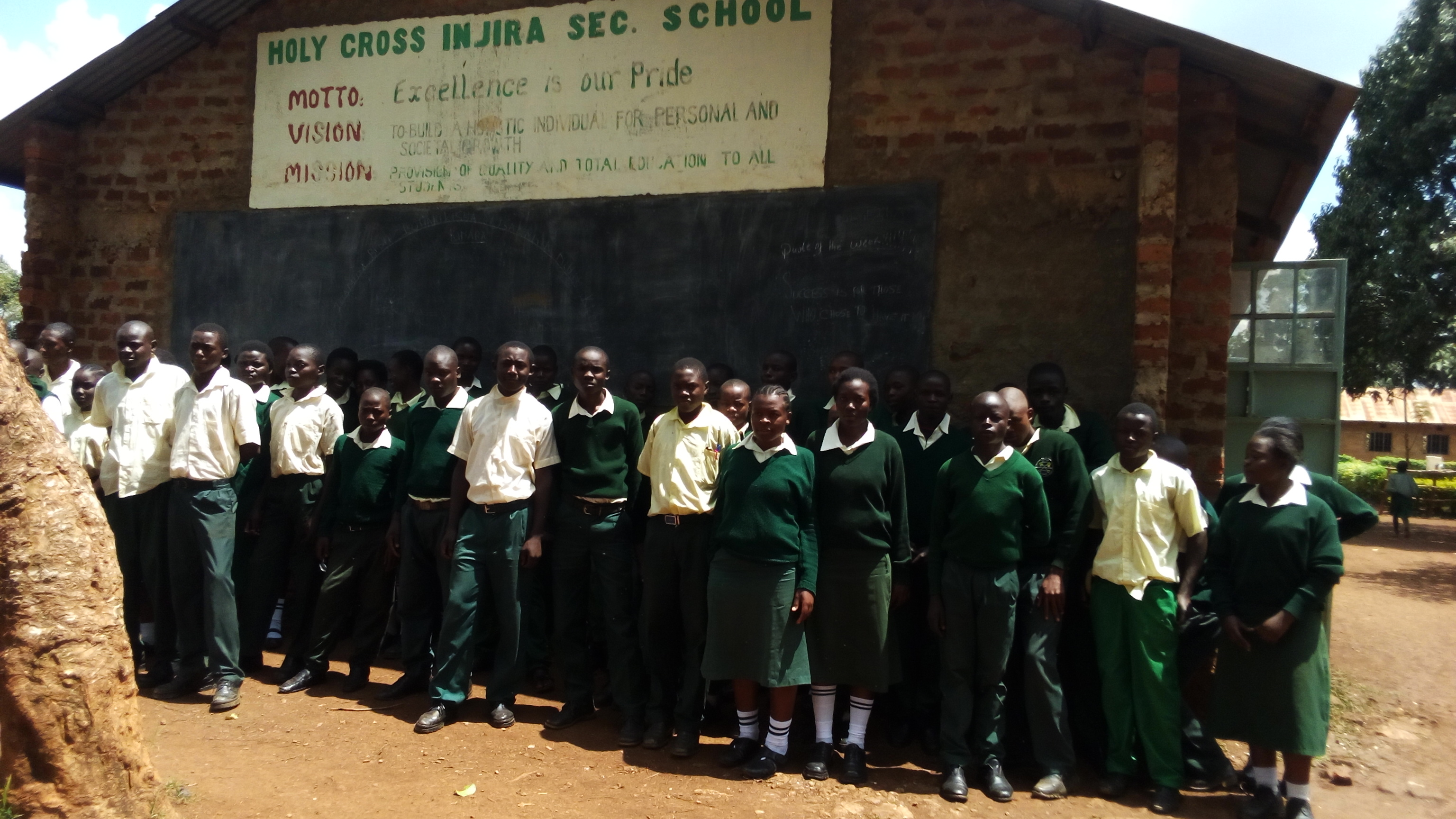 The Water Project : 1-kenya18030-students