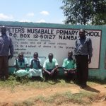 The Water Project: Musabale Primary School -  Students And School Leadership