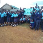 The Water Project: Sipande Secondary School -  Group Pictures At The School Entrance