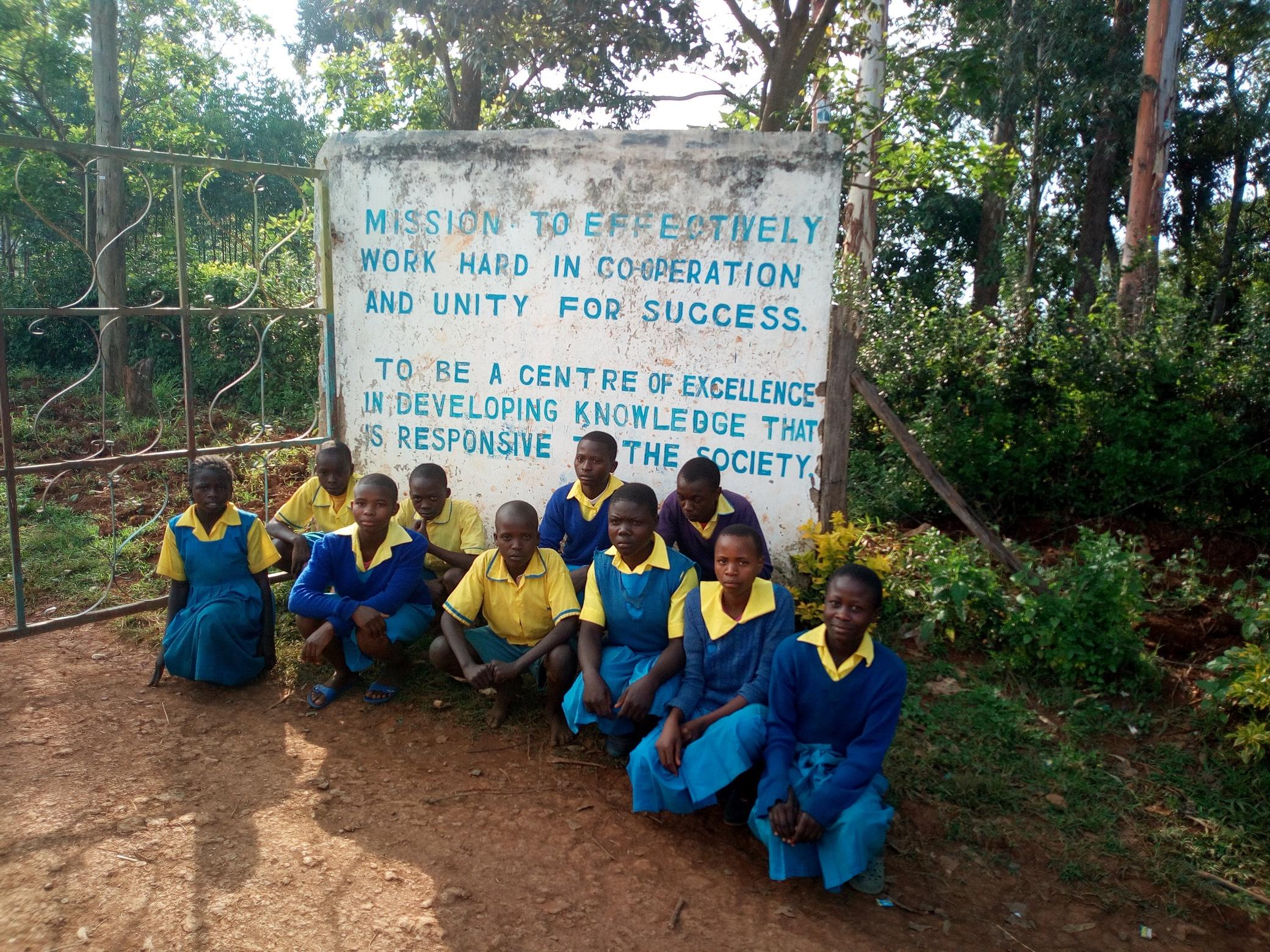 The Water Project : 1-kenya18061-school-entrance