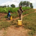 The Water Project: Burachu B Community -  On The Way To Fetch Water