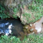 The Water Project: Muyundi Community, Baraza Spring -  Current Water Source
