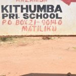 The Water Project: Kithumba Primary School -  School Sign