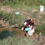 The Water Project: Elukho Community A -  Current Water Source