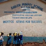 The Water Project: Rabuor Primary School -  Students With Their Water Containers