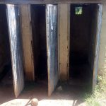 The Water Project: St. Stephen Maraba Secondary School -  Latrines