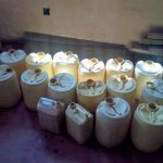 The Water Project: Kenneth Marende Primary School -  Water Containers