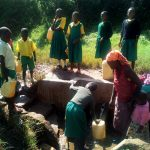 The Water Project: Jidereri Primary School -  Fetching Water