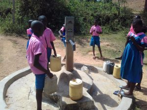 The Water Project:  Seasonal Well In Community