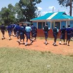 The Water Project: Kamuluguywa Secondary School -  Using The Primary Latrines