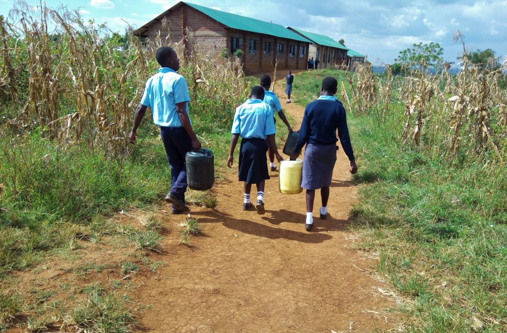 The Water Project : 10-kenya18056-carrying-water