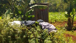 The Water Project:  Latrine And Clothes Drying