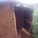 The Water Project: Mwituwa Community, Nanjira Spring -  Latrine