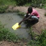 The Water Project: Masera Community A -  Fetching Water