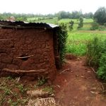 The Water Project: Burachu B Community, Shitende Spring -  Latrine