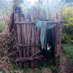 The Water Project: Koloch Community, Solomon Pendi Spring -  Bathing Shelter