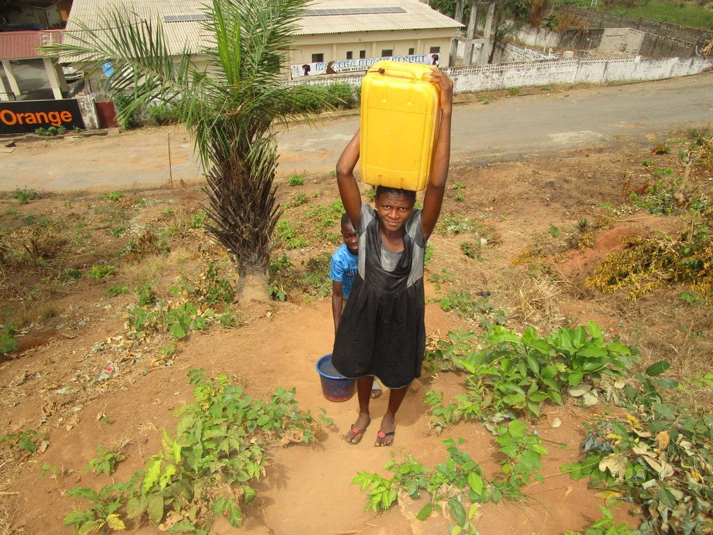 The Water Project : 10-kenya18255-carrying-water