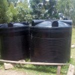 The Water Project: Bishop Makarios Secondary School -  Leaking Plastic Tanks