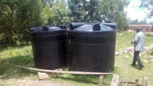 The Water Project:  Leaking Plastic Tanks