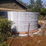 The Water Project: Mutsuma Secondary School -  Tank Construction