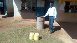 The Water Project:  The Rusty Water Barrel
