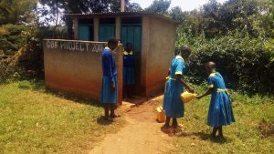 The Water Project:  Girls Rinsing Their Hands