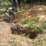 The Water Project: Eshisiru Secondary School -  Latrine Pit