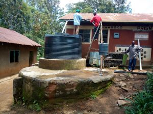 The Water Project:  Plastic Tank For The Kitchen