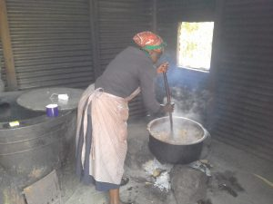 The Water Project:  The Cook In The School Kitchen
