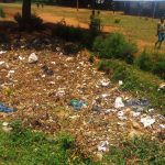 The Water Project: Eshilibo Primary School -  Garbage Site