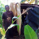 The Water Project: Lwangele Community -  Latrine