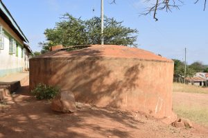 The Water Project:  Old Broken Cement Tank