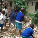 The Water Project: Rabuor Primary School -  Students Picking Through The Garbage