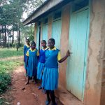 The Water Project: Lugango Primary School -  Latrines