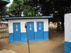 The Water Project:  Clinic Latrines