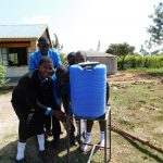 The Water Project: Mutsuma Secondary School -  Hand Washing Station