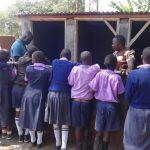 The Water Project: Ematetie Primary School -  Training On Latrine Maintenance