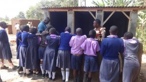 The Water Project:  Training On Latrine Maintenance