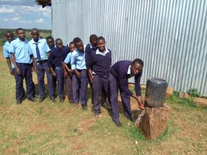 The Water Project:  Hand Washing Point