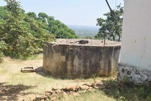 The Water Project:  Old Broken Tanks