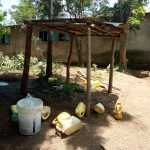 The Water Project: Eshiamboko Primary School -  Water Containers Scattered Around The Kitchen Area
