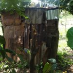 The Water Project: Masera Community, Salim Hassan Spring -  Latrine