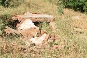 The Water Project:  Collapsed Latrines