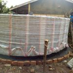 The Water Project: Madivini Primary School -  Tank Construction